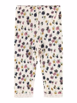 Wang wool Legging Blonde Blomster