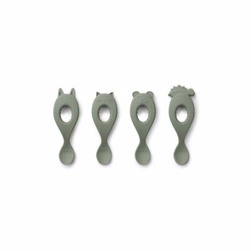 Liva Silicone Spoon - 4pack