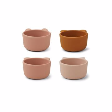 Malene Silicone Bowls - 4 pack